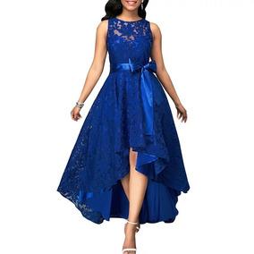 1c5a6acf2 Vestidos De Gala Color Azul - Vestidos de Mujer en Mercado Libre Chile