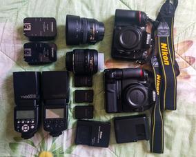 Nikon D7200+50mm+18-55+yn568ex+yn560iii + Acessórios