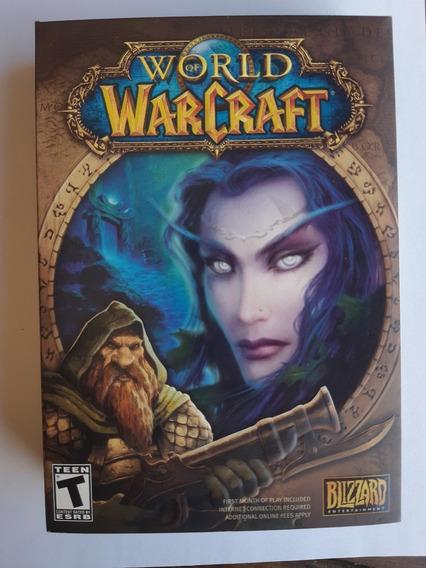 World Of Warcraft Na Caixa Original De Lançamento