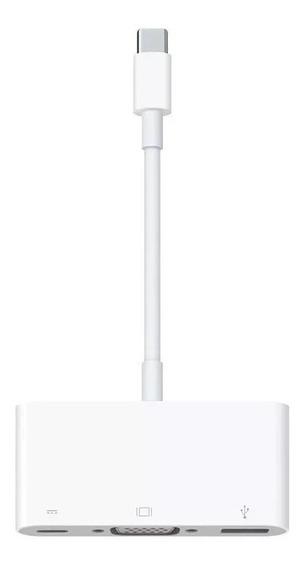 Adaptador Apple De Usb-c Para Novo Macbook, Vga Multiporta