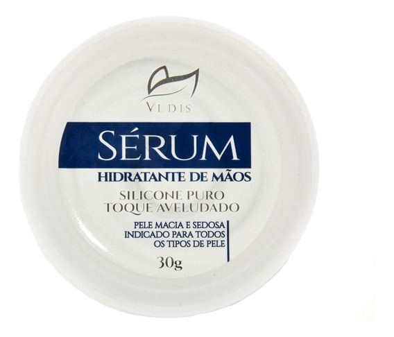 Sérum Hidratante De Mãos Silicone Puro 30g - Vedis