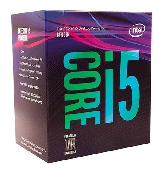 Processador Core I5 Lga 1151 Intel Hexa Core-8600k
