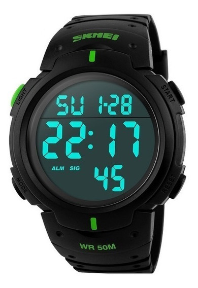 Reloj Tactico Skmei Bubble Anti Shock Sumergible 50 Metros
