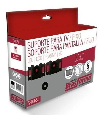 Suporte Fixo Brasforma Sbru750 Para Tv