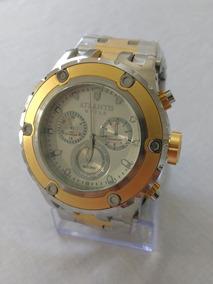 Relógio Dourado Masculino Atlantis Original Frete Grátis