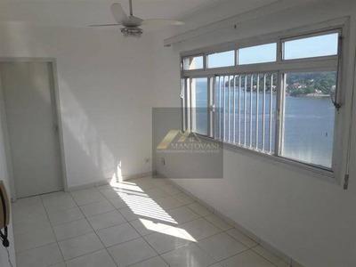 Apartamento Com 1 Dormitório À Venda, 40 M² Por R$ 153.000 - Centro - São Vicente/sp - Ap0862