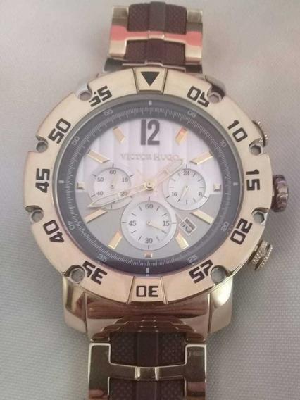 Relógio De Pulso Victor Hugo Vh10093gsg/01m