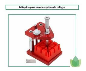 Máquina Diminuidora Tira Pino De Pulseira E Relógio Ourives