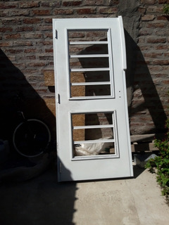 Puerta Oblak Blanca De 80cm De Ancho