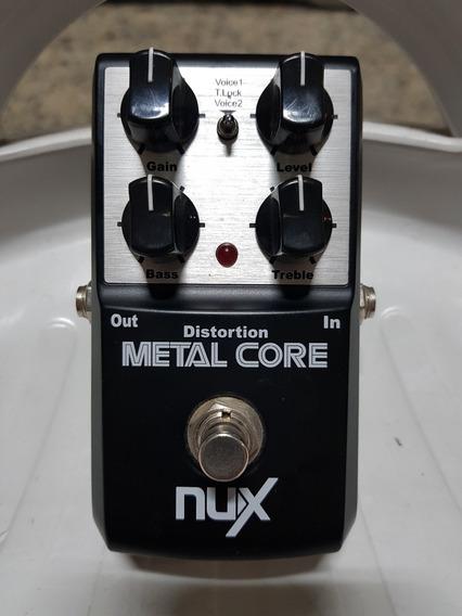 Pedal Nux Metal Core - Super Conservado!!!!