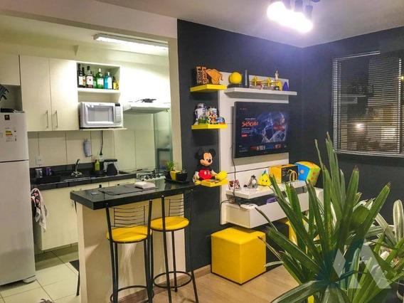 Oportunidade Unica - Apartamento Mobiliado No Condominio Sinfonia - Ap2167