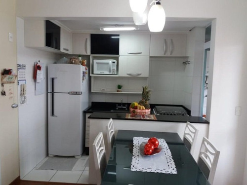 Apartamento Com 2 Dormitórios À Venda, 54 M² - Vila Valparaíso - Santo André/sp - Ap0465 - 67855242