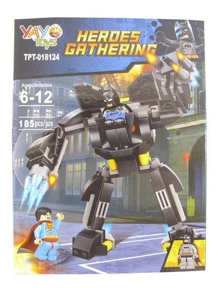 Juego Armable Lego 185 Piezas Heroe Batman Yayo Toys