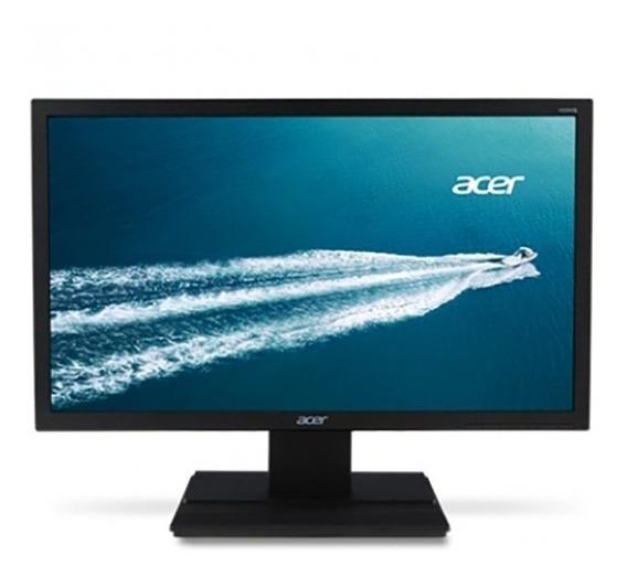 Monitor Acer 19.5 Led Hd V206hql Bb Vga