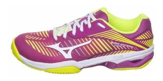 Zapatos Tenis Mizuno Wave Exceed Tour 3 Dama 9 (usa) 39 (ven