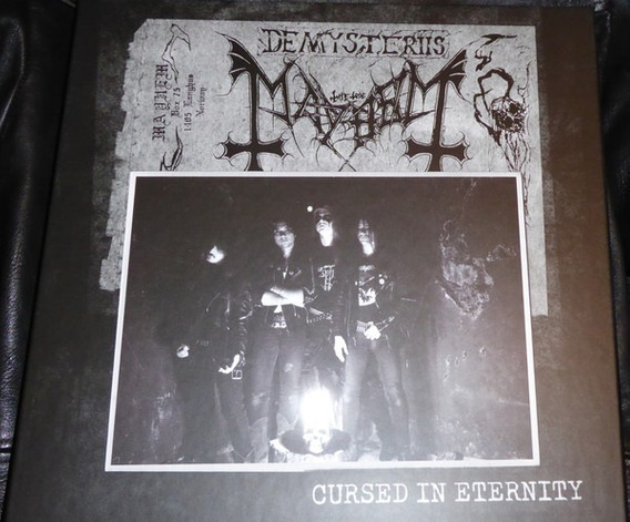 Mayhem Cursed In Eternity Box 6 Lps Pictures + Dvd+cd...