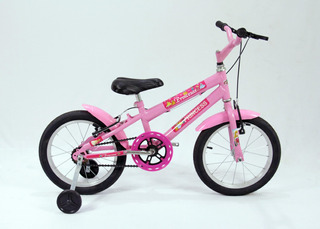 Bicicleta Infantil Aro16 Modelo Mtb Feminina + Brinde