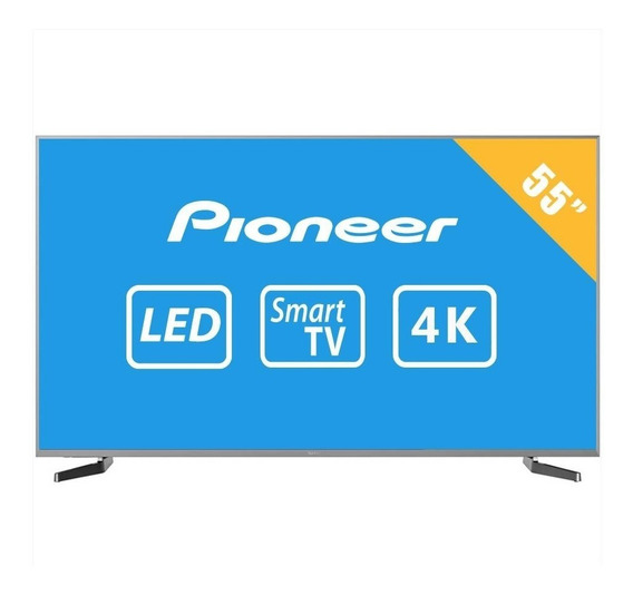 Tv Pioneer 55p Pulgadas 4k Ultra Hd Smart Tv Led