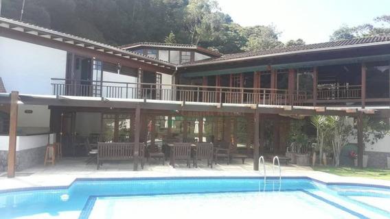 Casa Com 5 Dormitórios Para Alugar, 650 M² Por R$ 8.500/mês - Barra Do Imbuí - Teresópolis/rj - Ca0982