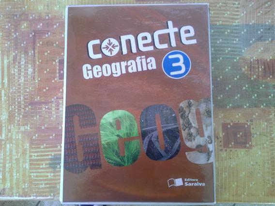 Conjunto De Livros Seminovos Conecte 03 Saraiva Geografia