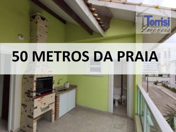 Sobrado Triplex Em Praia Grande, 03 Dormitórios, Sala Com Sacada Goumert, Aviação, So0066 - So0066
