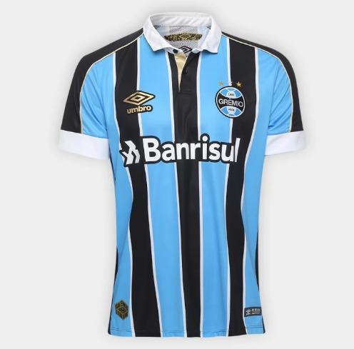 Camiseta Do Grêmio Modelo I - Listrada