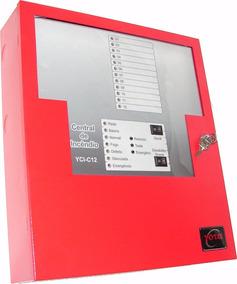 Central De Alarme De Incêndio 12 Laços 240 Detectores - Yota