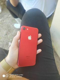 iPhone 7 Red 128 Gb De Memória Semi Novo
