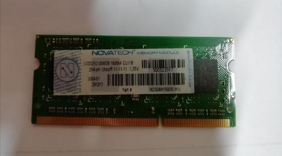 Memoria 4gb Dd3 1600mhz Novatech 1.35 V