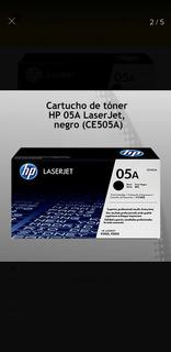 Toner (x4) Hp Ce505a Para Impresoras P2035 P2055