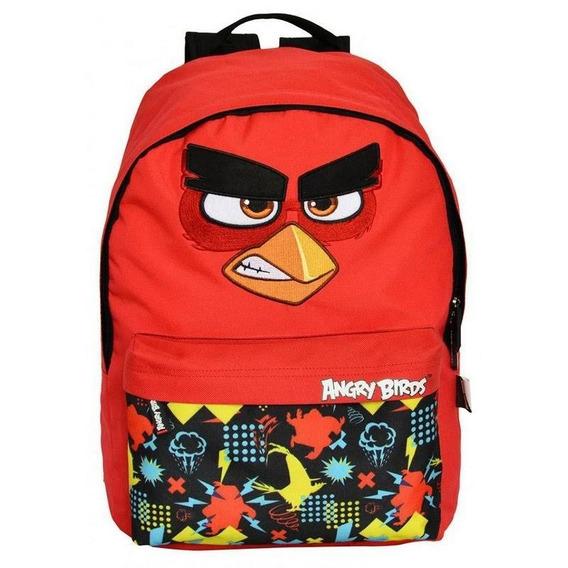 Mochila Angry Birds Vermelho G Santino