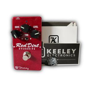 Pedal Red Dirt Overdivre Original Keeley Engineered Novo