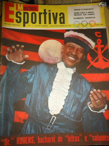 Manchete Esportiva Nº 01 26/11/1955 Nelson Rodrigues Poster