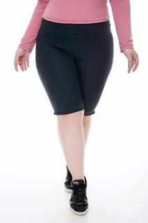2 Calza Ciclista Mujer X 2 Algodon Con Lycra Talle Grande