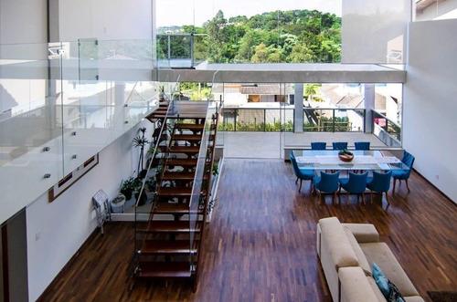 Imagem 1 de 18 de Sobrado Com 4 Dormitórios À Venda, 500 M² Por R$ 1.700.000,00 - Condomínio Quintas De São Fernando - Cotia/sp - So0531