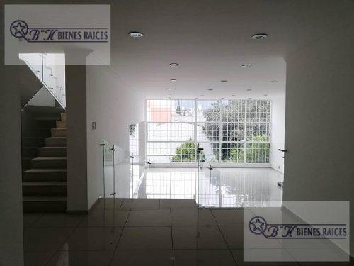 Casa En Cerrada En Renta, Tecamachalco