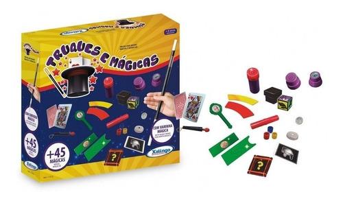 Imagem 1 de 1 de Jogo De Mágica 45 Truques De Mestre - 1137-6 Xalingo