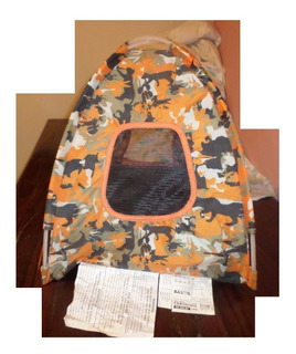 Casa Campaña Canuflage Perros 49x40x60 Cm Tela Como Lona