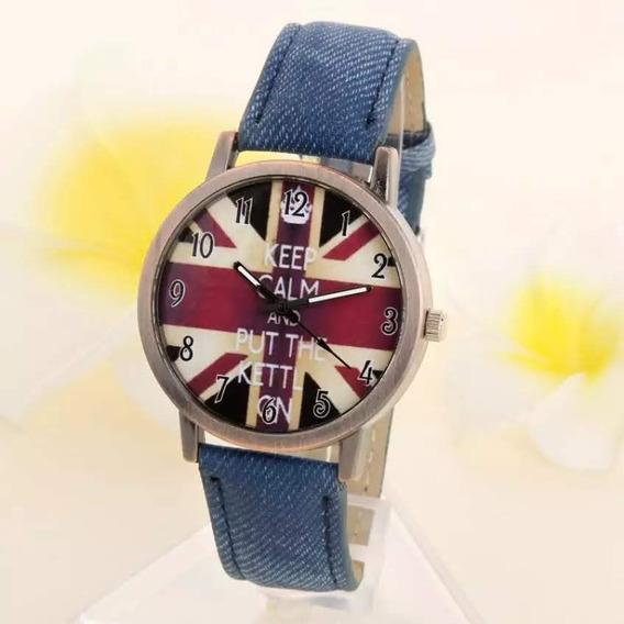 Relógio Bandeira Da Inglaterra