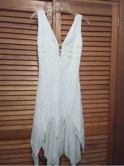 Vestido Blanco Usado