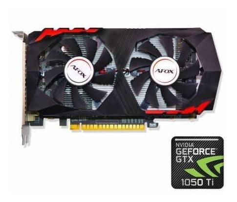 Placa De Video Gtx 1050ti 4gb Gddr5 Hdmi Afox 128bit Gaming