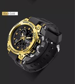 Relógios Masculino Aço Grande Pesado Todo Funcional + Cx