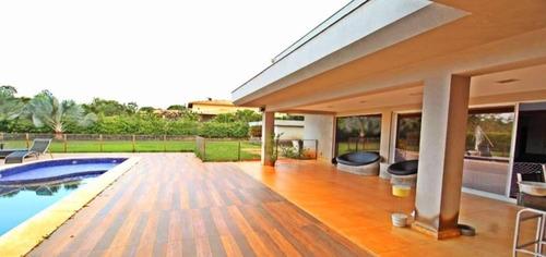 Casa Com 600m², Moderna Em Terreno De 2.500m² + 2.500m² De Área Verde! - Villa89590