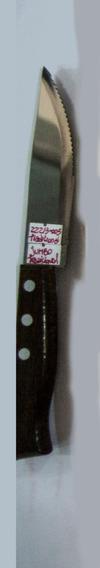 Cuchillo Tramontina Madera Jumbo Tradicional X 6 Unid
