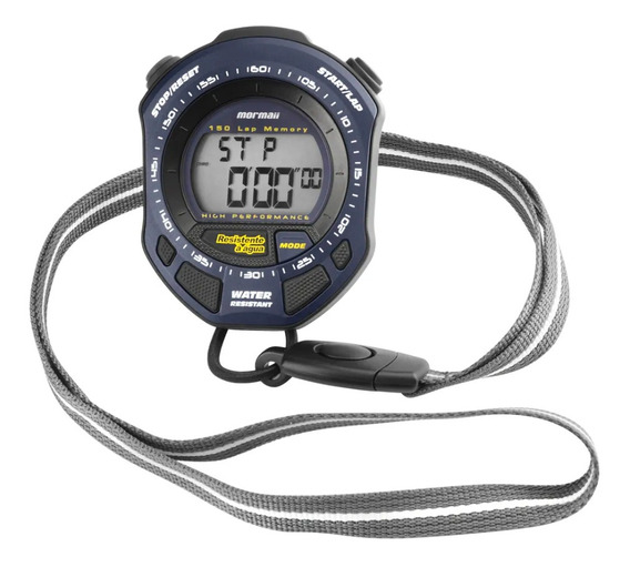 Relógio Digital Mormaii Stopwatch Mo094428a