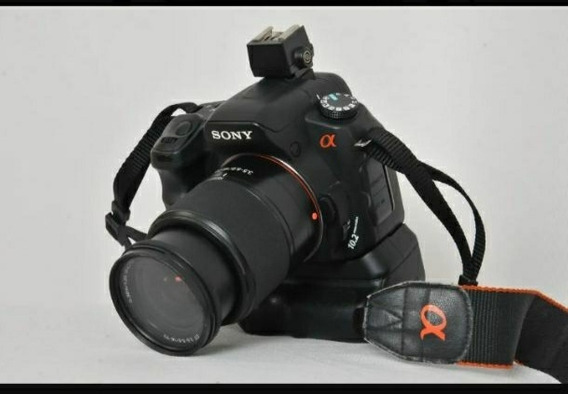 Sony Alpha 200 Grip + Bag + Lentes 18-70mm