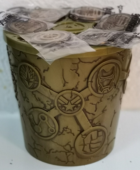 Palomero - Avengers, Iron-capitán-thor-hulk-capitana-thanos