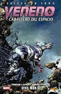 Comic 100% Veneno: Caballero Del Espacio # 02 - Civil War Ii