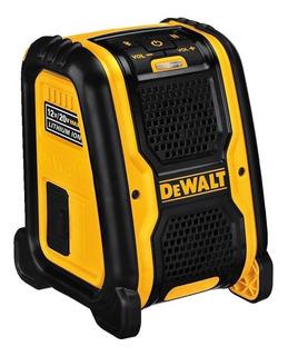 Parlante Portatil Inalambrico Bluetooth Dewalt Dcr006 12/20v