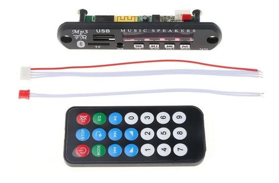 Placa Decodificadora Mp3 Fm Usb Bluetooth 12v Promoção